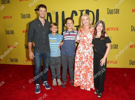 Joshua Snyder, Angela Kinsey and guests