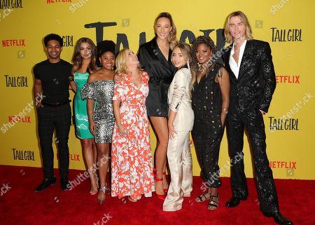 Rico Paris, Clara Wilsey, Anjelika Washington, Angela Kinsey, Ava Michelle, Sabrina Carpenter, Nia Sioux and Luke Eisner