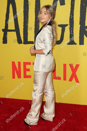 Editorial photo of 'Tall Girl' film premiere, Arrivals, Netflix Home Theatre, Los Angeles, USA - 09 Sep 2019