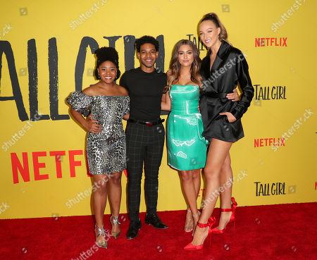 Stock Picture of Anjelika Washington, Rico Paris, Clara Wilsey and Ava Michelle