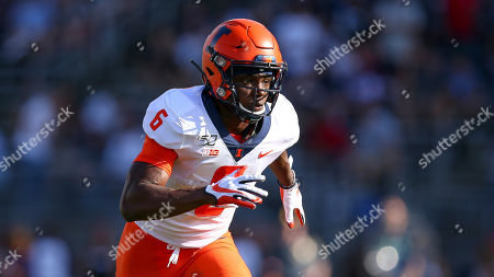 Illinois defensive back Tony Adams (6) during an NCAA football game against Connecticut on in East Hartford, Conn