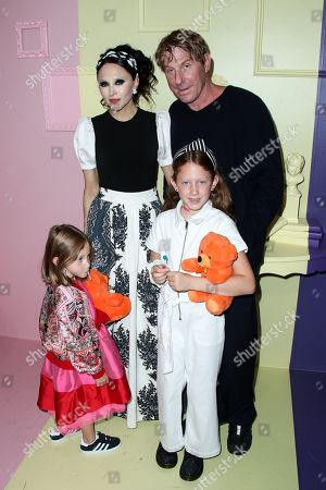 Stacey Bendet, Eric Eisner and kids