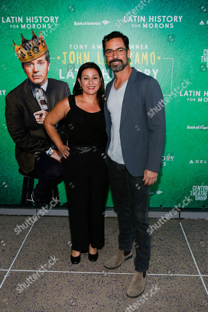 Editorial image of 'Latin History For Morons' Center Theatre Group/Ahmanson Theatre Opening, Los Angeles, USA - 08 Sep 2019