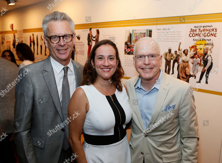 Stock Picture of Michael Ritchie, Meghan Pressman and Douglas C. Baker Center