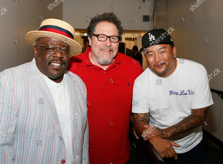 Cedric the Entertainer, Jon Favreau and Roy Choi