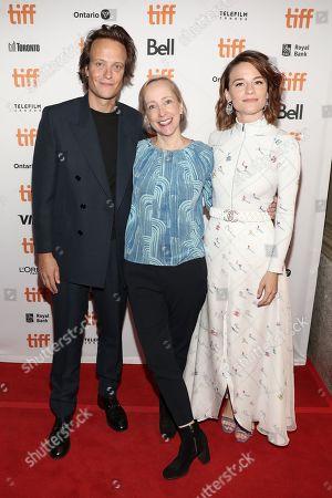 August Diehl, Elizabeth Bentley and Valerie Pachner