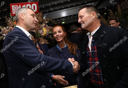 US Ambassador to Germany, Richard Allen Grenell (R) and the Mayor of Kiev, Vitali Klitschko, attend the 'BILD100 summer party' event in Berlin, Germany, 09 September 2019. 100 of the most important decision-makers from politics and business as well as well-known personalities from sports, art and culture are expected at the event held by Germany's highest-circulation newspaper BILD.