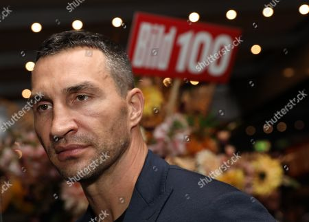 Former world heavyweight champion Wladimir Klitschko attends the 'BILD100 summer party' event in Berlin, Germany, 09 September 2019. 100 of the most important decision-makers from politics and business as well as well-known personalities from sports, art and culture are expected at the event held by Germany's highest-circulation newspaper