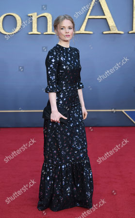 Kate Phillips attends the World Premiere of 'Downton Abbey' at Leicester Square in Lonâ??don, Britain, 09 September 2019. The movie, based on the hit television show, is released in UK cinema on 13 September 2019.