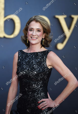 Raquel Cassidy attends the World Premiere of 'Downton Abbey' at Leicester Square in Lonâ??don, Britain, 09 September 2019. The movie, based on the hit television show, is released in UK cinema on 13 September 2019.