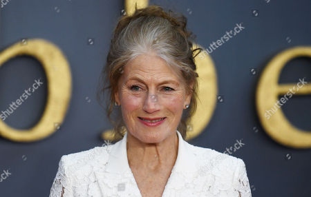 Geraldine James attends the World Premiere of 'Downton Abbey' at Leicester Square in Lonâ??don, Britain, 09 September 2019. The movie, based on the hit television show, is released in UK cinema on 13 September 2019.