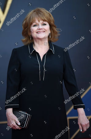 Lesley Nicol attends the World Premiere of 'Downton Abbey' at Leicester Square in Lonâ??don, Britain, 09 September 2019. The movie, based on the hit television show, is released in UK cinema on 13 September 2019.