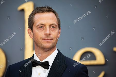 Stock Image of Stephen Campbell-Moore poses for photographers upon arrival at the world premiere of the film 'Downton Abbey' in London