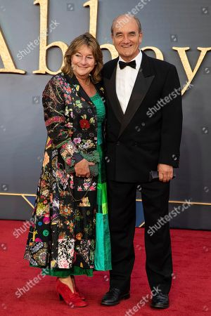 David Haig poses for photographers upon arrival at the world premiere of the film 'Downton Abbey' in London
