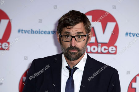 Documentary film maker Louis Theroux poses for photographers on arrival at the TV Choice Awards in central London on