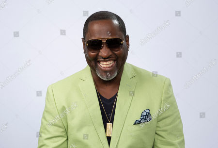 "This photo shows portrait shows R&B singer Johnny Gill posing for a portrait in Los Angeles to promote his eighth studio album ""Game Changer II"