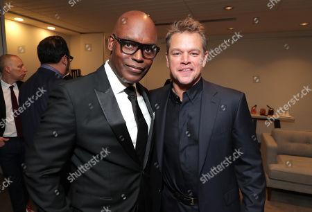 Cameron Bailey, Artistic Director & Co-Head of TIFF, Matt Damon