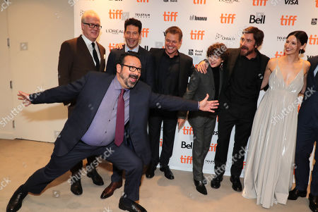 James Mangold, Director/Producer, Tracy Letts, Jon Bernthal, Matt Damon, Noah Jupe, Christian Bale, Caitriona Balfe, Josh Lucas