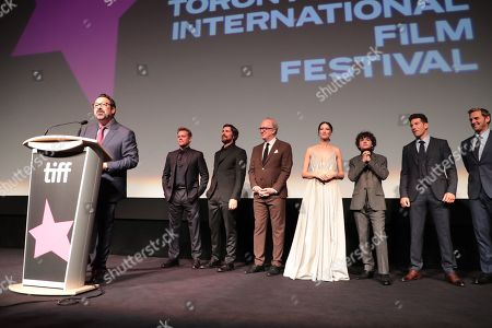 James Mangold, Director/Producer, Matt Damon, Christian Bale, Tracy Letts, Caitriona Balfe, Noah Jupe, Jon Bernthal, Josh Lucas