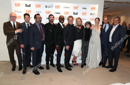 Tracy Letts, Jon Bernthal, James Mangold, Director/Producer, Christian Bale, Cameron Bailey, Artistic Director & Co-Head of TIFF, Matt Damon, Noah Jupe, Caitriona Balfe, Josh Lucas, Peter Chernin, Producer