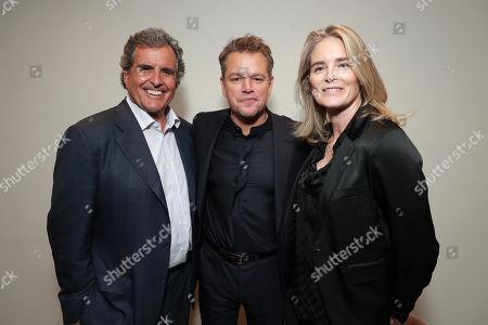 Peter Chernin, Producer, Matt Damon, Emma Watts, Vice Chairman of Twentieth Century Fox Film