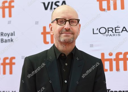 "Steven Soderbergh attends a premiere for ""The Laundromat"" on day five of the Toronto International Film Festival at Princess of Wales Theatre, in Toronto"