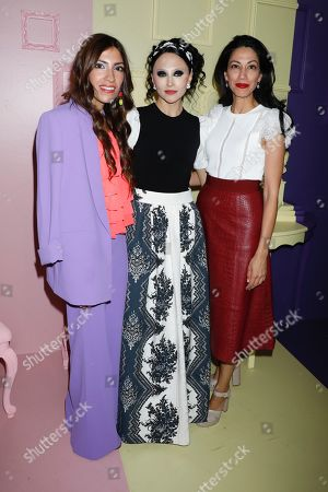 Editorial picture of Alice and Olivia presentation, Front Row, Spring Summer 2020, New York Fashion Week, USA - 09 Sep 2019