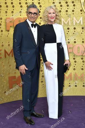 Stock Photo of Eugene Levy and Catherine O'Hara