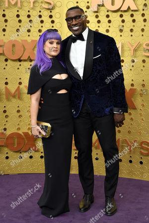 Kelly Osbourne and Shannon Sharpe