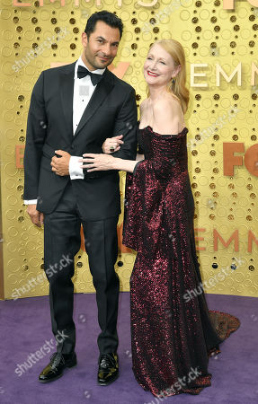 Stock Image of Patricia Clarkson and Darwin Shaw