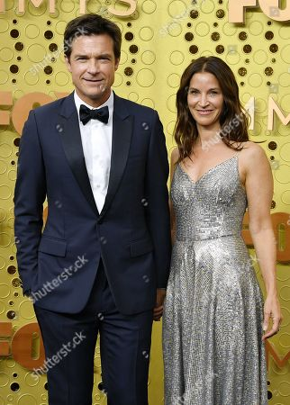 Stock Image of Jason Bateman and Amanda Anka
