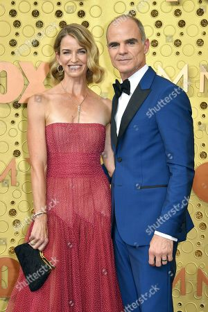 Stock Picture of Michael Kelly and Karen Kelly