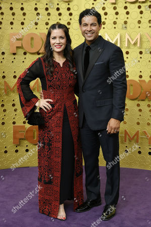 Stock Photo of Nicole Huertas and Jon Huertas