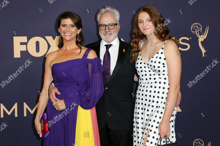 Amy Landecker, Bradley Whitford and Mary Louisa Whitford