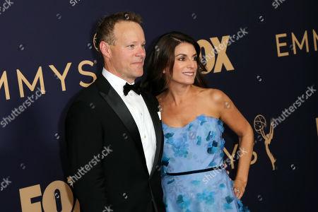 Chris Licht and Jenny Licht