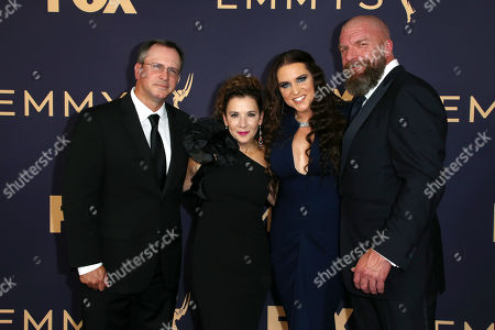 Dave Woolridge, Madeline Di Nonno, Stephanie McMahon-Levesque and Paul Levesque