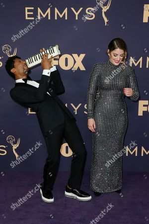 Stock Picture of Jon Batiste and Suleika Jaouad