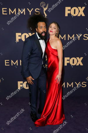 Stock Photo of Reggie Watts and guest
