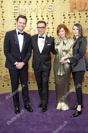 Stock Image of Bill Hader, Fred Armisen, Natasha Lyonne and Clea DuVall