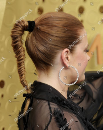 Amy Adams, hair detail