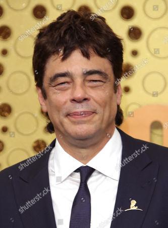 Stock Picture of Benicio Del Toro
