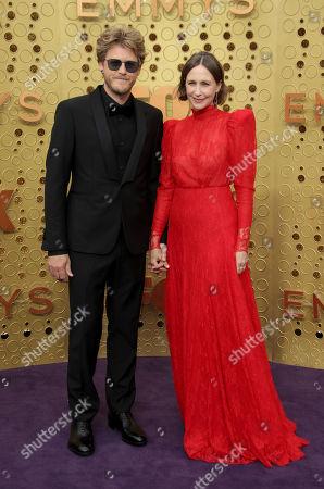 Stock Image of Renn Hawkey and Vera Farmiga