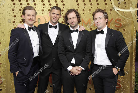 Alex Moffat, Mikey Day, Kyle Mooney and Beck Bennett