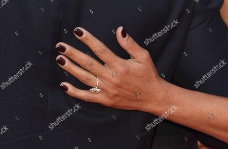 Luciana Damon, ring detail