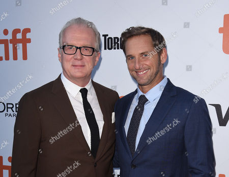 Josh Lucas and Tracy Letts