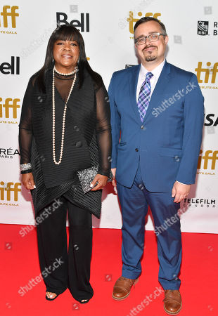 Chaz Ebert and guest