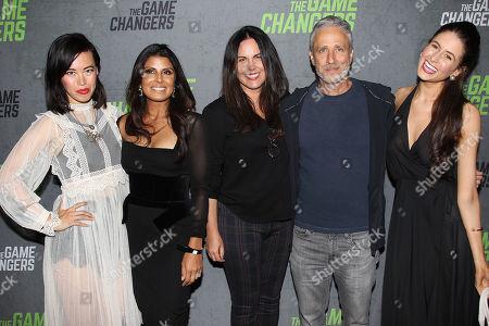 Leanne Mai-Ly Hilgart, Nirva Patel, Tracey Stewart, Jon Stewart