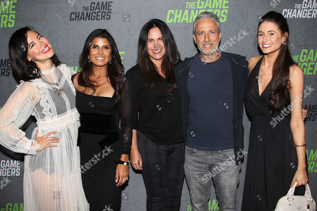 Editorial picture of New York Red Carpet Premiere of Academy Award-Winning Director, Louie Psihoyos' 'The Game Changers', USA - 09 Sep 2019