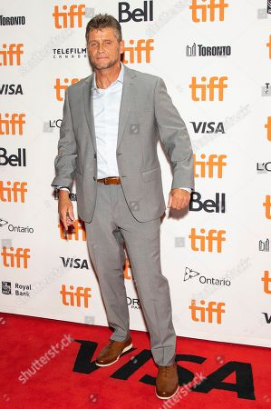 """Keith Williams Richards attends a premiere for """"Uncut Gems"""" on day five of the Toronto International Film Festival at the Princess of Wales Theatre, in Toronto"""