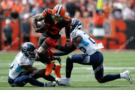 Editorial picture of Titans Browns Football, Cleveland, USA - 08 Sep 2019